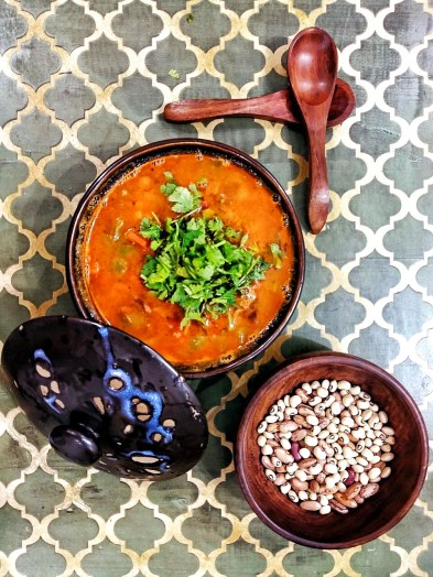 Mexican Mix Bean Chilli Soup