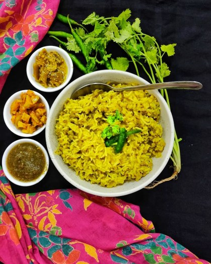 Khichdi (Lentil-Rice One Pot meal)