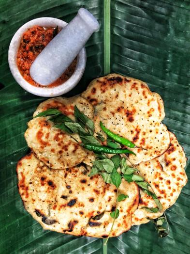 Jowar Dosa and Tomato Chutney