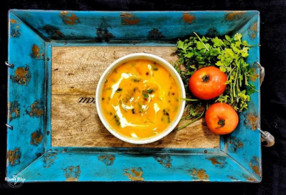 Roasted Tomato – Bell Pepper – Coconut Milk Soup
