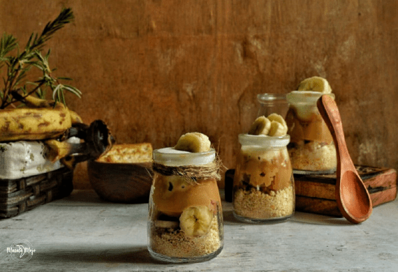 No-Bake Banoffee Jars