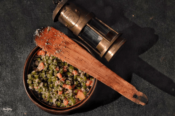 Kerala style Beans and Carrot Thoran